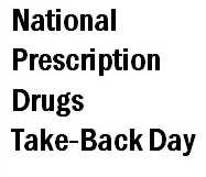 National Prescription Drugs Take-Back Day