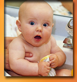 Burn Awareness Week-Baby bath scald prevention