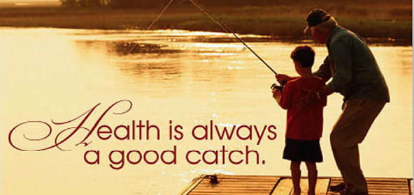 Health is always a good catch-Take daily steps to live a heallthier life- CDC ecard
