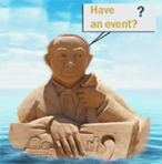 """Sand"" wants to know if you have an up-coming event in San Diego...SaludHEALTHinfo"