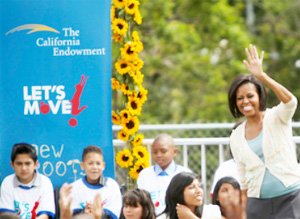 Michelle Obama in San Diego