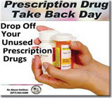 September 25-Prescription Drug Take Back Day
