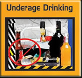 Underage Drinking PDF document to  reprint and share